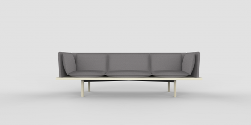 Final Thesis. Couch series designing for Metropolia Arabia campus. Teemu Haranko. 2018. Industrial design.